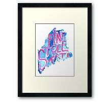 Pine Tree State Framed Print