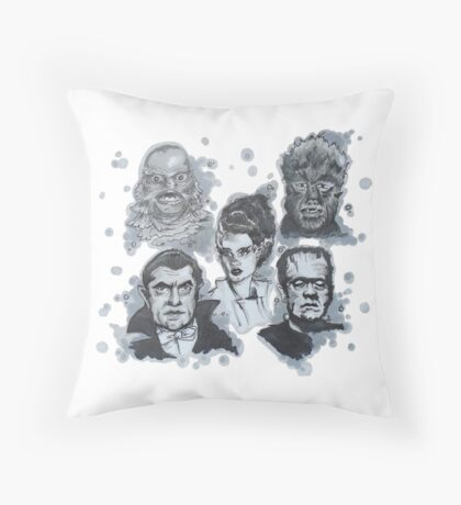 Monster Magic Throw Pillow