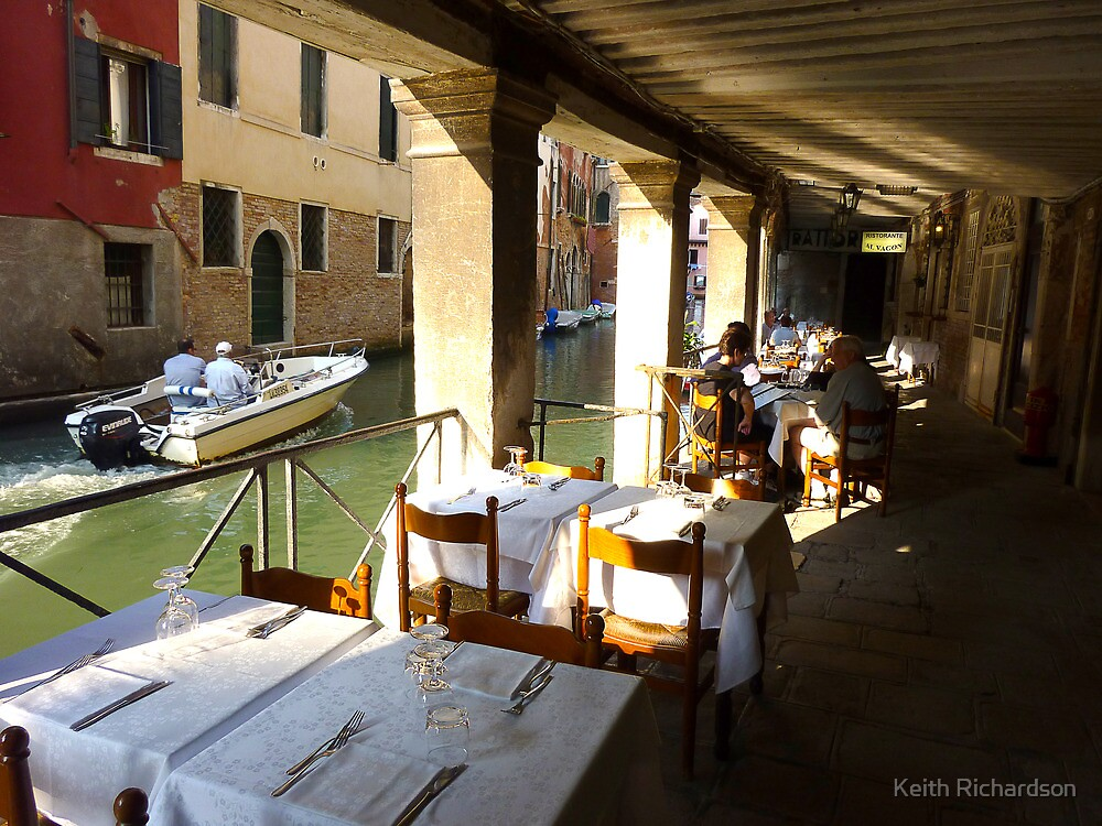 Fondamenta Dining Experience in Venice by Keith Richardson