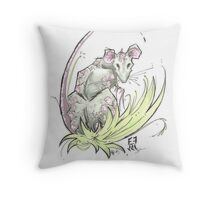 Year of the Rat Throw Pillow