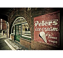 Cups n Cones Photographic Print