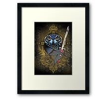 Killer Eyes Framed Print