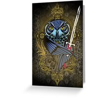 Killer Eyes Greeting Card