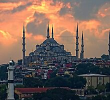 The Blue Mosque, Istanbul by Tom Gomez