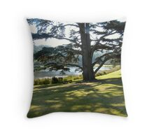 Cedar Tree Throw Pillow