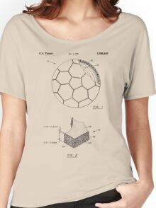 Football patent Women's Relaxed Fit T-Shirt
