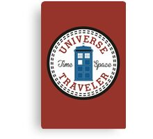Doctor Who Converse Time Traveller Canvas Print