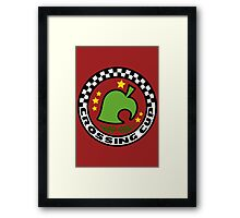 Crossing Cup Framed Print
