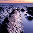 Dusk at Welcombe Mouth - Devon England by Craig Joiner