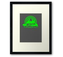 Welcome to Megaton Framed Print