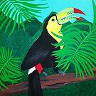 Keel Billed Toucan by Joann Barrack