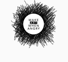 Make art when angry Men's Baseball ¾ T-Shirt