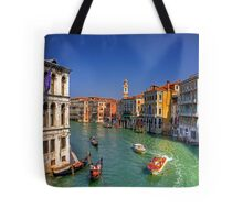 Light Traffic on the Grand Canal Tote Bag