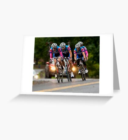 Univest Time Trial: image1 Greeting Card