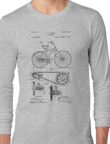 Bicycle patent from 1890 Long Sleeve T-Shirt