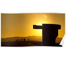 Elogio del Horizonte - Backlight sunset Poster