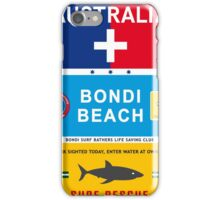 Australia, Sydney, Bondi Beach Surf Print Posters Decoration iPhone Case/Skin