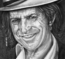 Keith Richards by emizaelmoura