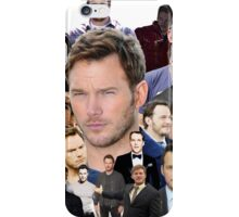Chris Pratt Tile  iPhone Case/Skin