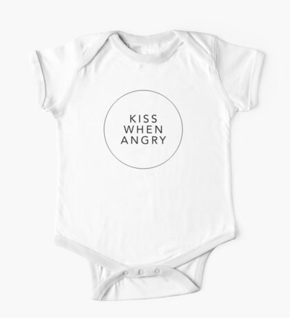 Kiss when angry One Piece - Short Sleeve