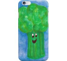Happy Broccoli iPhone Case/Skin