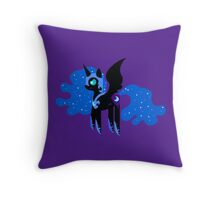 My Little Pony - Nightmare Moon BBBFF (Song) Style Throw Pillow