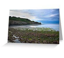 Sandsend Greeting Card