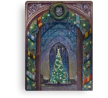 Christmas in Hogwarts Canvas Print