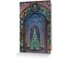 Christmas in Hogwarts Greeting Card