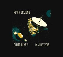 New Horizons Pluto Flyby 14 July 2015 Unisex T-Shirt