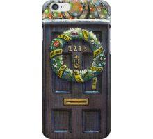 Sherlock Christmas 221 b iPhone Case/Skin