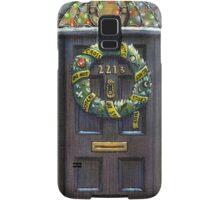 Sherlock Christmas 221 b Samsung Galaxy Case/Skin