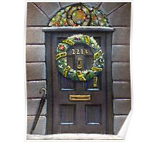 Sherlock Christmas 221 b Poster