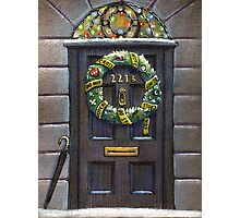 Sherlock Christmas 221 b Photographic Print