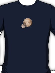 Heart Pluto and Charon T-Shirt