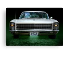 "1965 Buick Riviera Grand Sport  ""Blink""  Canvas Print"