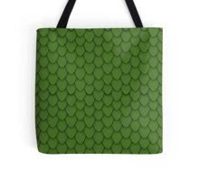 Green Dragon Scales Tote Bag
