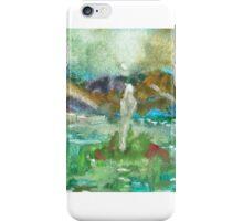Waiting in Stillness iPhone Case/Skin