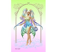 The Fairy .. Crystal Photographic Print