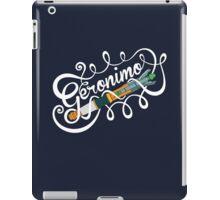 Doctor Who Geronimo! iPad Case/Skin