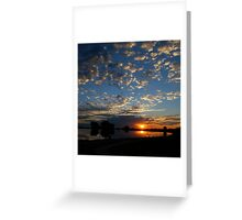 On the Rise Greeting Card