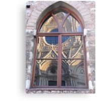 Siena Cathedral reflected Metal Print