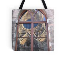 Siena Cathedral reflected Tote Bag