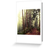 Campbell River, Canada Greeting Card