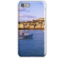 Golden morning - St Ives, Cornwall UK iPhone Case/Skin