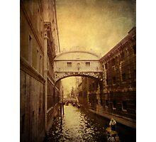 Bridge of Sighs Photographic Print
