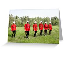 Northwest Mounted Police Regiment Greeting Card