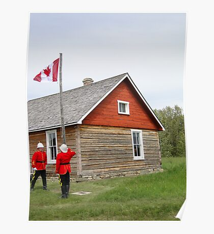 The Flag Raising, Canada Day 2010 Poster