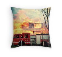 Detroit Fire Department  Throw Pillow