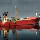 Fisherman and his Friend by Ted Lansing